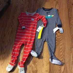 Bundle of 2.  18 months Carter's pajamas NWT